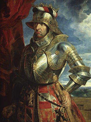 Artland Alte Meister Wandbild Peter Paul Rubens Kaiser Maximilian I Kunst Leinwandbild Barock...