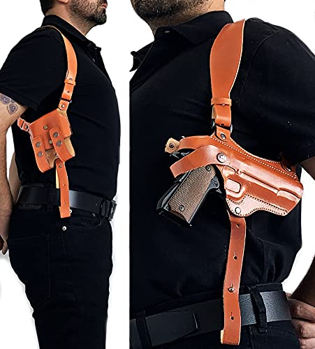 Aysesa Tactical 1911 Shoulder Holster System w/ Mag Pouch...