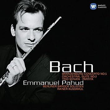 Bach: Brandenburg Concerto No. 5 - Orchestral Suite No. 2 - Trio Sonata - Partita.