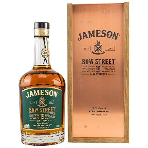 Jameson Whiskey Jameson BOW STREET 18 Years Old Triple Distilled Irish Whiskey CASK STRENGTH 55,1% Vol. 0,7l in Giftbox - 700 ml