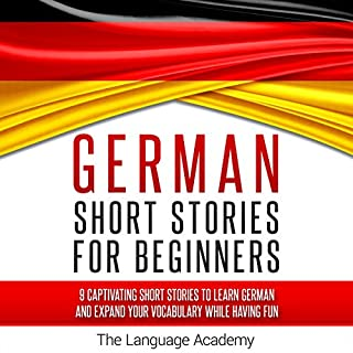 German: Short Stories for Beginners cover art
