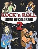 LIBRO DE COLOREAR ROCK N ROLL - vol 2: Un libro para colorea