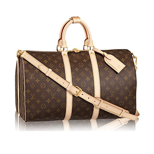Louis Vuitton Monogram Canvas Cross Body Handle Keepall Bandoulière 45 Article:M41418