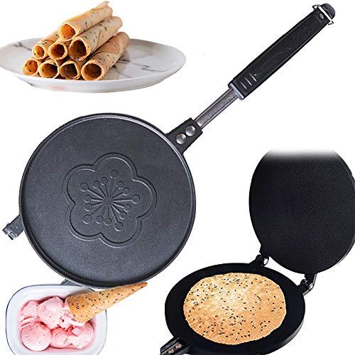 DSMGLRBGZ Crepera, Gofrera Waffle Maker Cacerola No Pegajoso Omelet Máquina De Panqueques para Panqueques Tortita Tortilla Pizza