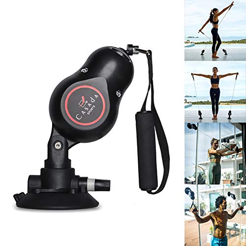 CASADA Home Gym Equipment Full Body Portable Workouts Resistance Band MediPull Bodyweight Resistance System Pull Rope for Home, Travel and Outdoors(1PCS)