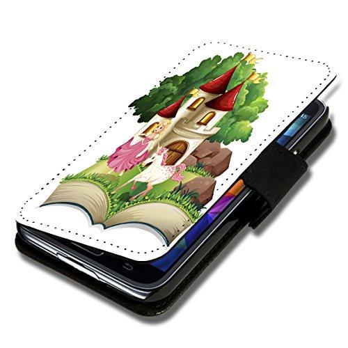 Book Style Flip Handy Tasche Hülle Schutz Hülle Schale Motiv Etui für Wiko Stairway - Flip 1A35 Design12