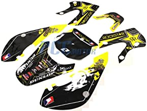 13Z ROCKSTAR GRAPHICS DECAL STICKERS KIT FOR KAWASAKI KLX110 KLX 110 KX 65 DE61