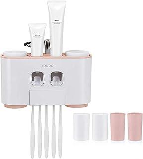 HEALIFTY Pasta de dientes Exprimidor pasta de dientes dispensador Pasta de dientes titular para ba/ño 2pcs
