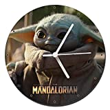Star Wars The Mandalorian Baby Yoda Reloj de Pared Wall Clock 20cm
