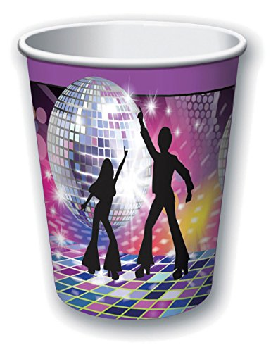 Forum Novelties X77975 Disco Tasses, Multicolore, taille unique