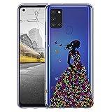 Hülle für Samsung A21s Handyhülle Motiv 2524 Frau mit
