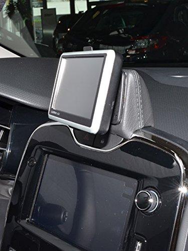 KUDA 282405 Halterung Kunstleder schwarz für Renault Clio IV ab 2013