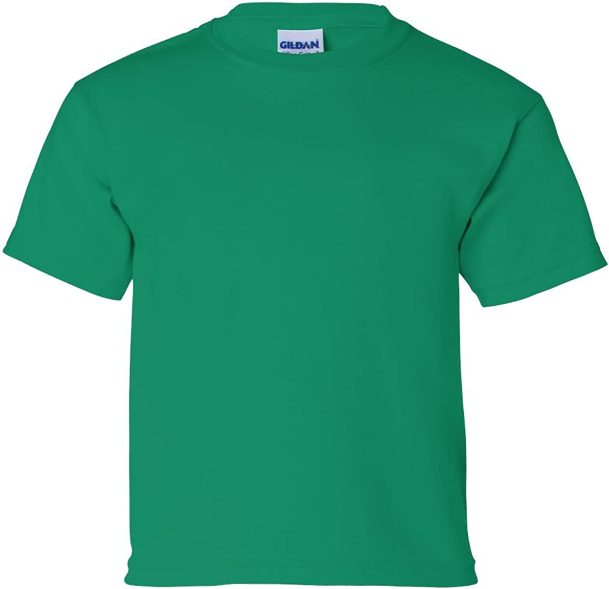 Cotton T-Shirt (G200B) Kelly Green, S (Pack of 12)