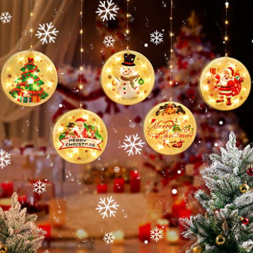 Vdaye Christmas String Light USB & Battery Operated Waterproof Twinkle Fairy Lights for Indoor Outdoor Home Garden Party Wedding Christmas Tree Warm White Light (Christmas String Light)