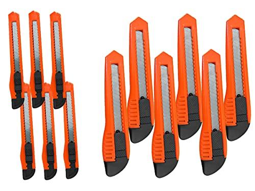 LEDLUX 6 Cutter 18 mm + 6 Cuter 9 mm (total 12 unidades)
