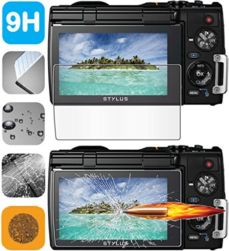 Protector de Pantalla LCD de Cristal Templado HD para Olympus Tough TG-850 TG-860 ihs cámara Digital