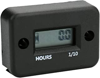 Display LCD digital à prova d'água medidor de horas do medidor de horas do motor do motor do carro e da motocicleta.