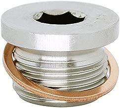 (1pc) M22X1.5 Stainless Steel A2 Metric Allen Head Threaded Screw Plug DIN 908, BelMetric DP22X1.5AHSS
