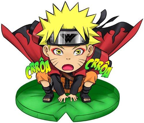 T-Shirt Noir Naruto parodique Naruto en Mode Sennin : Crôa Crôa No Jutsu !! (Parodie Naruto)