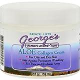 George's Aloe Vera Collagen Cream - 2 Oz