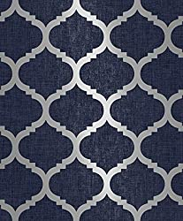 Pattern Repeat: 21.3 cm Straight Match Same Batch Numbers Supplied On Orders Classification: Washable, Good Light fastness, Wet Removable. Roll Size: 10m x 0.53m Approx.5.32msq (57.7sq.ft) Stunning Finish