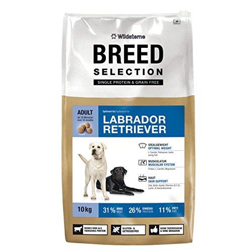 Wildsterne Breed Selection Labrador Retriever, 10 kg, 1er Pack (1 x 10000 grams)