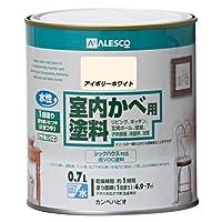 カンペハピオ 室内かべ用塗料 アイボリーホワイト 0.7L