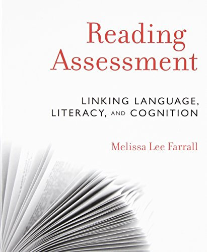Compare Textbook Prices for Reading Assessment: Linking Language, Literacy, and Cognition 1 Edition ISBN 9780470873939 by Farrall, Melissa Lee