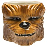 Zak Designs Coffee Mugs, Sculpted, Star Wars Ep4 Chewbacca