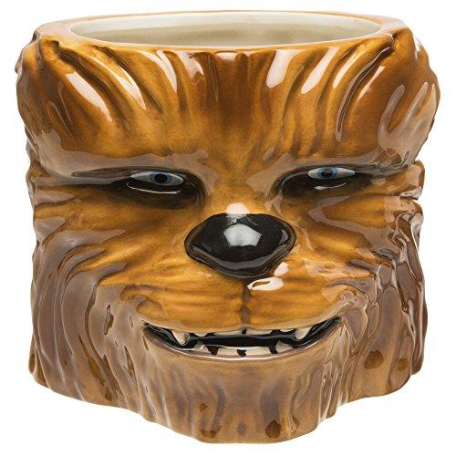 Zak Designs STAB-8515 Star Wars Kaffeetassen, keramik, Chewbacca