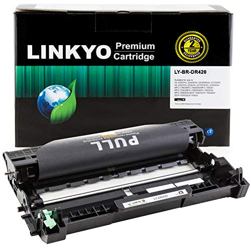 LINKYO Compatible Drum Unit Replacement for Brother DR420 ...
