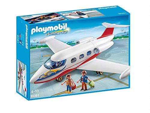 Playmobil–Summer Fun Avion de Vacances Multicolore (6081)