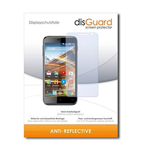 disGuard Displayschutzfolie für Archos 50c Neon [2 Stück] Anti-Reflex, MATT, Entspiegelnd, Extrem Kratzfest, Anti-Fingerabdruck - Displayschutz, Schutzfolie, Panzerfolie