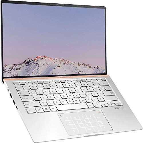 ASUS ZenBook UM433DA 14 inch Full HD 300nits Laptop (AMD Ryzen 7, 16GB RAM, 512GB SSD, Backlit Keyboard, Windows 10) Includes LED NumberPad