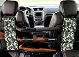 LOVIT Car Concealed Seat Back Gun Rack,Hunting Gear Seat Back Gun Sling Holder Universal Shooting Accessories, Fit for Vehicles (Army Camo)