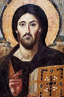 Hispanic World Jesus Pantocrator Christ Cristo icon 6th Century