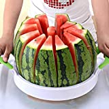Watermelon Slicer 15'' Large Stainless Steel Fruit Melon Slicer Cutter...
