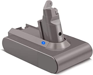 21.6V Li-ion Battery Compatible for Dyson V6 SV04 DC58 DC59 DC61 DC62 DC72 DC74 Absolute Animal Motorhead Slim SV03 SV04 S...