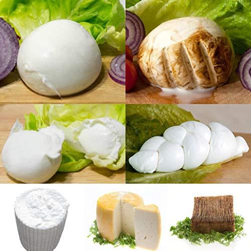 BufalaBox - assortimento di mozzarelle (2,5kg) e formaggi di bufala (800g)
