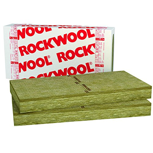 20mm Rockwool Frontrock 4,8m² Steinwolle Putzträgerplatte Fassadendämmung Wärmedämmung Fassade Laibung Dämmung