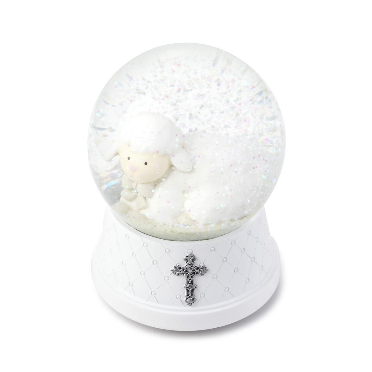Image of Little Lamb Jesus Loves Me Water Globe