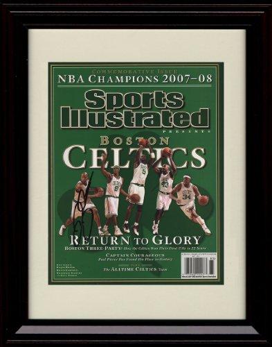 Framed Boston Celtics Championship Commemorative Sports Illustrated Autograph Replica Print - 2008