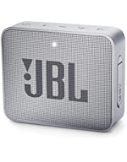 JBL GO 2 kleine muziekbox - waterdichte, draagbare Bluetooth-luidspreker met handsfree functie - tot 5 uur muziekgenot met slechts één acculading grijs