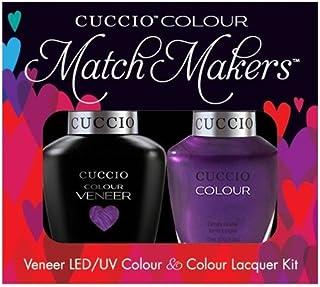 Cuccio MatchMakers Veneer & Lacquer - Grape to See You - 0.43oz / 13ml Each
