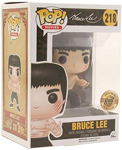A-Generic Funko Bruce Lee Figura # 218 Edicion Limitada Pop! Multicolor