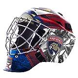 Franklin Sports Florida Panthers NHL Hockey Goalie Face Mask - Goalie Mask for Kids Street Hockey - Youth NHL Team Street Hockey Masks