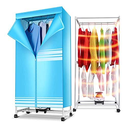 MYRCLMY Asciugatrice, 180Min Double Layer Quick Dry Portatile Elettrodomestico, Dryer Governo, con in Lega di Alluminio di Alta qualità, Universal Caster