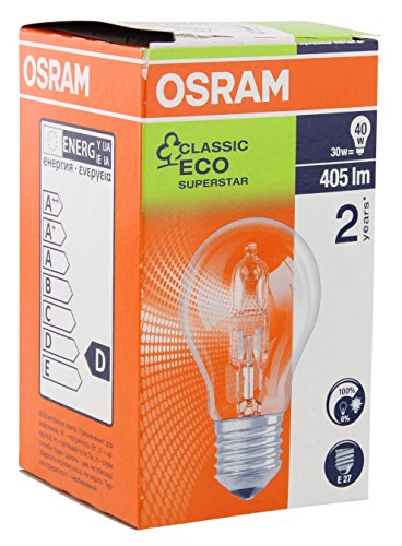Osram Halogen Energy Saver E-27 28W/230V Classic A 64542 ES A