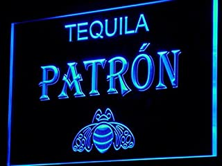 Tequila Patron Bar Pub Beer LED Neon Light Sign Man Cave A143-B