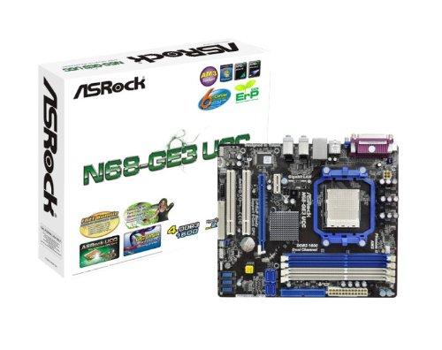 Asrock N68-GE3 UCC Mainboard Sockel AMD AM3 nF630A 4X DDR3 Speicher Mikro ATX